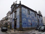 Beautiful Tiled Church in Porto Portugal