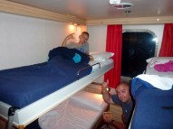 4 berth outside cabin