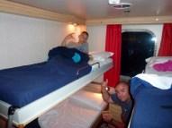 4 berth outside cabin