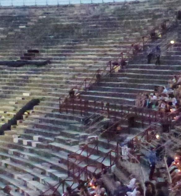 Verona - Aida Opera Seats