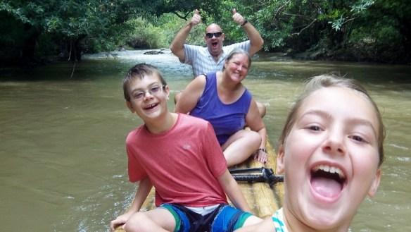 Wagoners Abroad Bamboo Raft