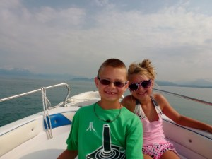 Lake Garda Italy - Boat