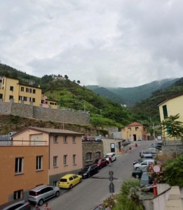 The top of Riomaggiore - Cinque Terre