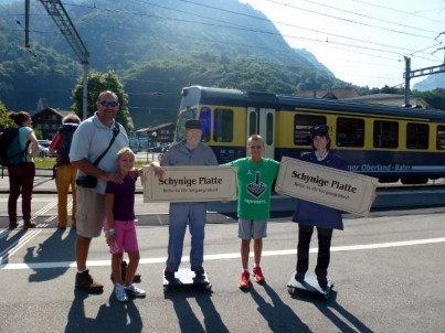 Schynige Platte Train