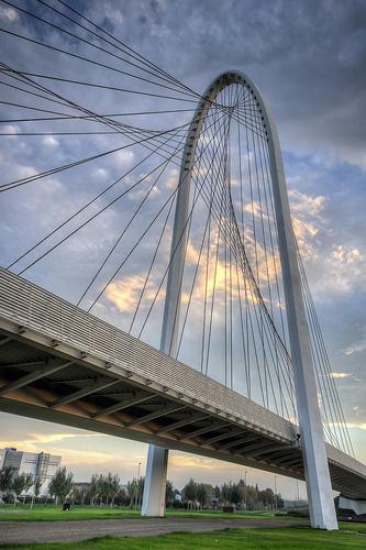 Calatrava Bridge Reggio Emilia