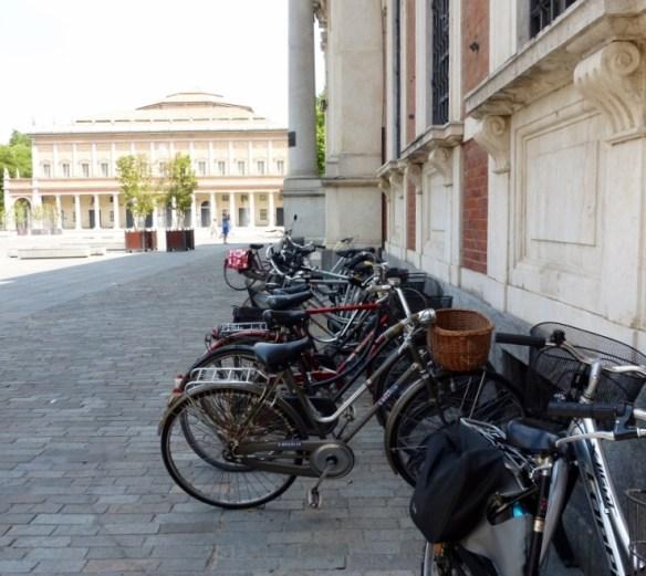 Reggio Emilia Italy main plaza