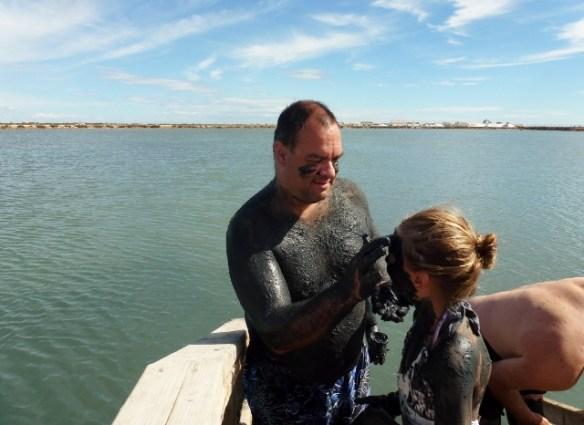 Wagoners Abroad at Mar Menor - Lo Pagan Mud Bath (2)