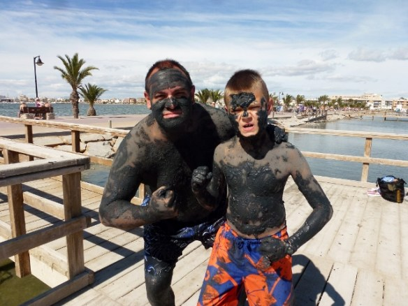Wagoners Abroad at Mar Menor - Lo Pagan Mud Bath (6)
