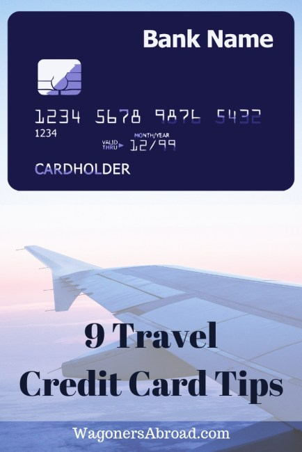 Chase Sapphire Preferred credit card for travel. No foreign transaction fees for traveling internationally. A huge win, plus 9 tips to help save money. Read more on WagonersAbroad.com