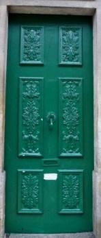 Porto, Portugal Green Door
