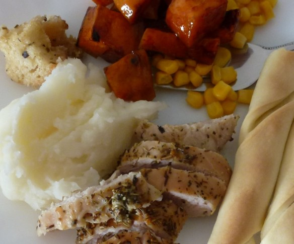 Thanksgiving Meal in Spain