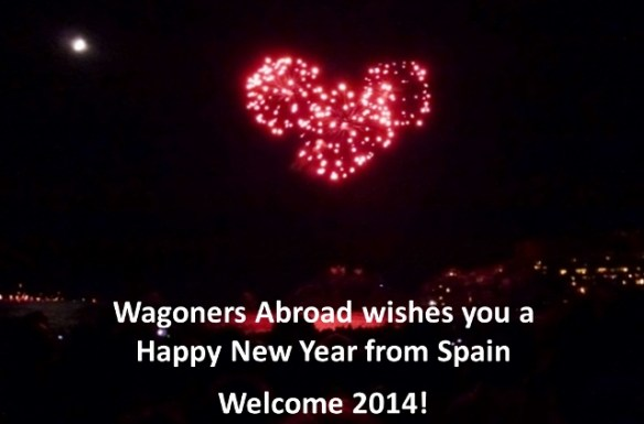 Happy New Year from Wagoners Abroad in Spain