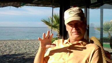 Marvin in Chiringuito El Bambu La Hurradura