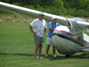 Glider flight South Carolina