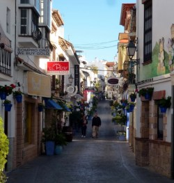 Estepona Spain - Flowers everywhere