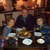 best European Christmas vacation in Estepona Spain - December 2013 Tapas at Antonio's