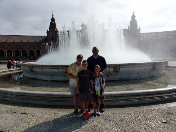 Wagoners Abroad in Seville Spain