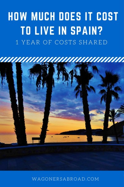 How much does it cost to live in Spain for a year? That all depends on you, but this family of 4 captured all of their costs for a year and share it with you. Including a 6 week European road trip! Read more on WagonersAbroad.com