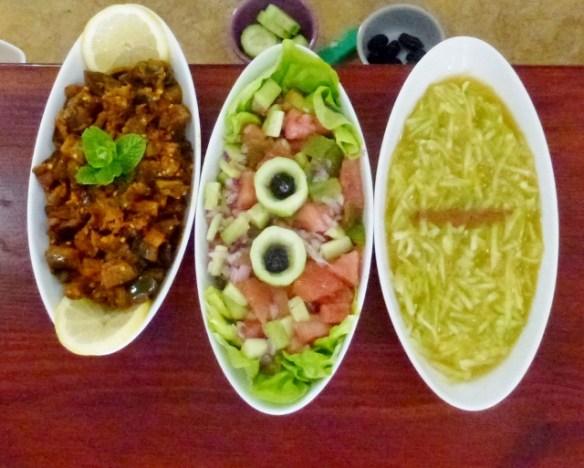Faim d'Epices 3 salads