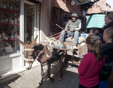 Special delivery in Marrakech Medina