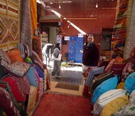 Shops in the Marrakech Medina