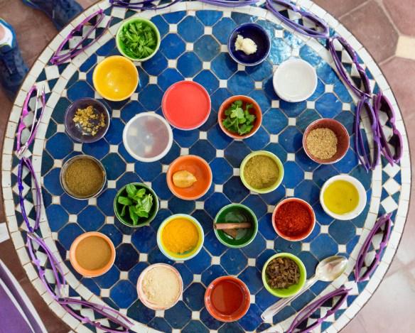 Morocco Spices at Faim D'Epices