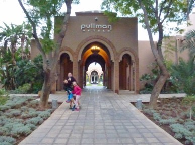 Pullman Palmeraie Resort and Spa Marrakech Morocco Main Entry