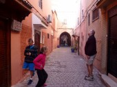 Riad Dar Limoun Amara Marrakech Front door