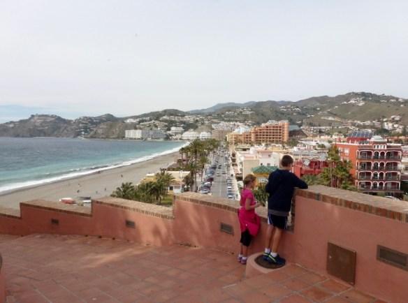 Dia de Andalucia - Almunecar Spain 2014  San Cristobal Beach