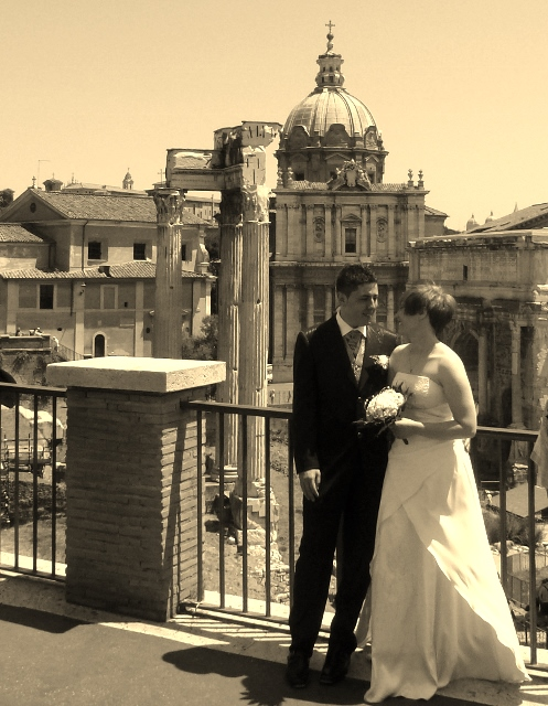 Get Married in the heart of Rome