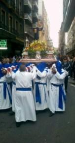 Alicante Spain - Semana Santa procession
