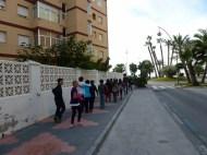 Almuñécar - School field trip always walking