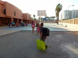 Almuñécar - School playground