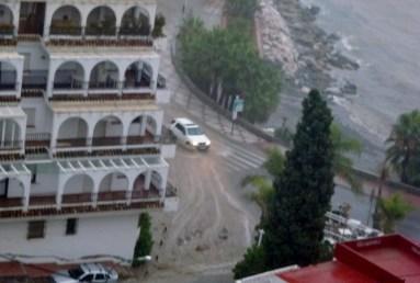 Almuñécar Spain Rain Storm 9 -2012
