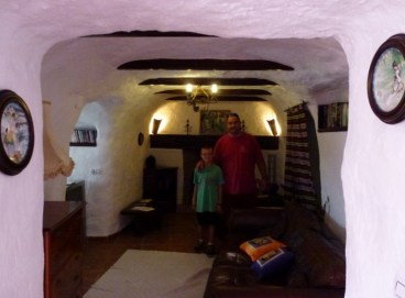 Baza Spain - Cave House LIving Room