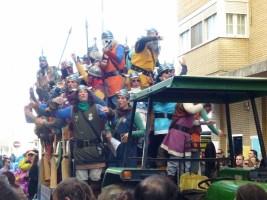 Festival in Cadiz Spain - Carnaval Singers