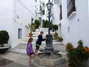 Frigiliana Spain - Water fountain