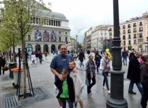 Madrid Spain - Love all of the plazas