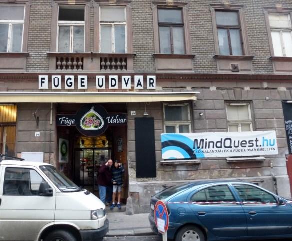 Füge Udvar Ruin Bar Budapest Hungary - Escape Game