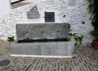 Water Fountain in The Village of Pampaneira