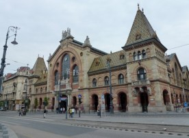 Budapest Hungary - The Great Hall Market