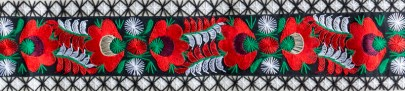 Embroidered cloth - Budapest Hungary