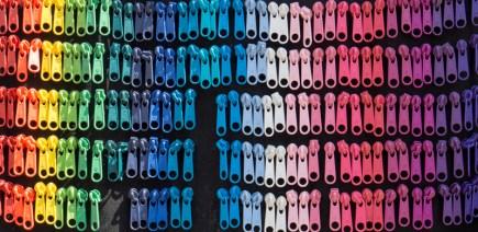 Zipper Earrings Budapest Hungary