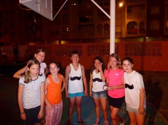 Anyas friends are sad Last Day of School Almunecar Spain June 2014 (9)