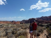 Cousin Chynna Snow Canyon State Park - Utah June 2014