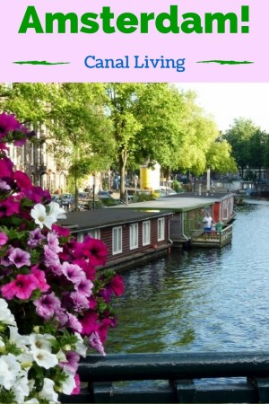 Things to do in Amsterdam with kids, as well as a tast of Amsterdam Canal Living. Read more on WagonersAbroad.com