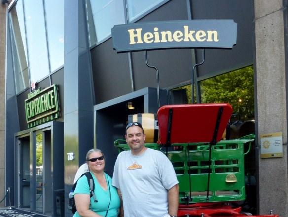 Amsterdam Heineken Experience - Stimulates the taste buds!