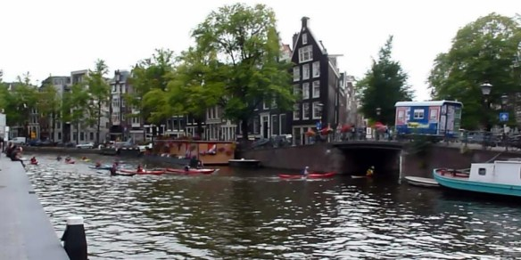 Amsterdam - Kayak Tour near Anne Frank House