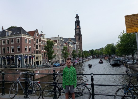 Amsterdam near Anne Frank House
