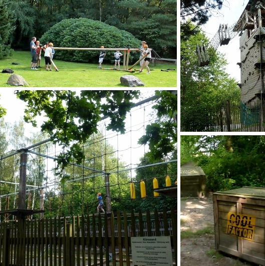 Cool Factor Challenge Collage Center Parcs